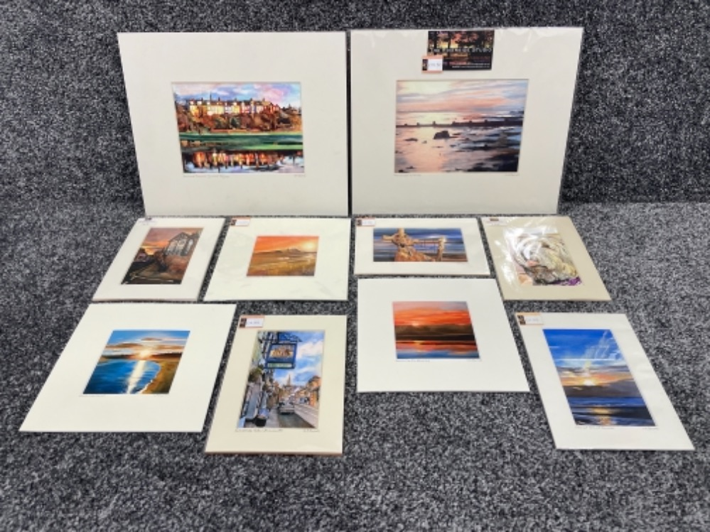 Vivienne Ann Dykes signed limited edition prints (10)