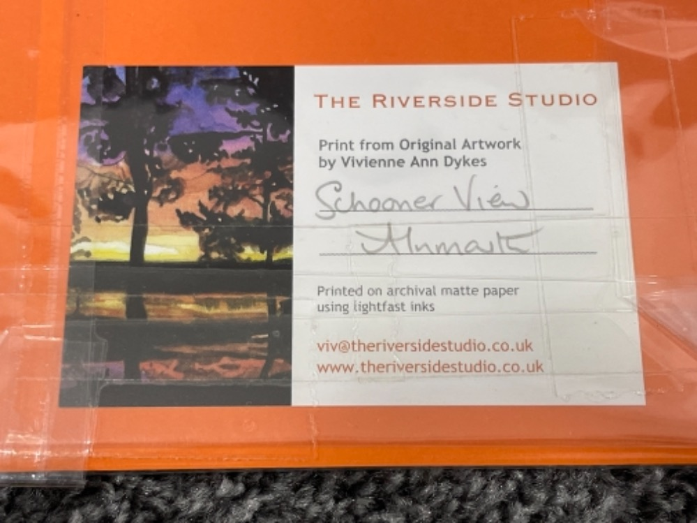 Vivienne Ann Dykes signed limited edition prints (10) - Image 5 of 5