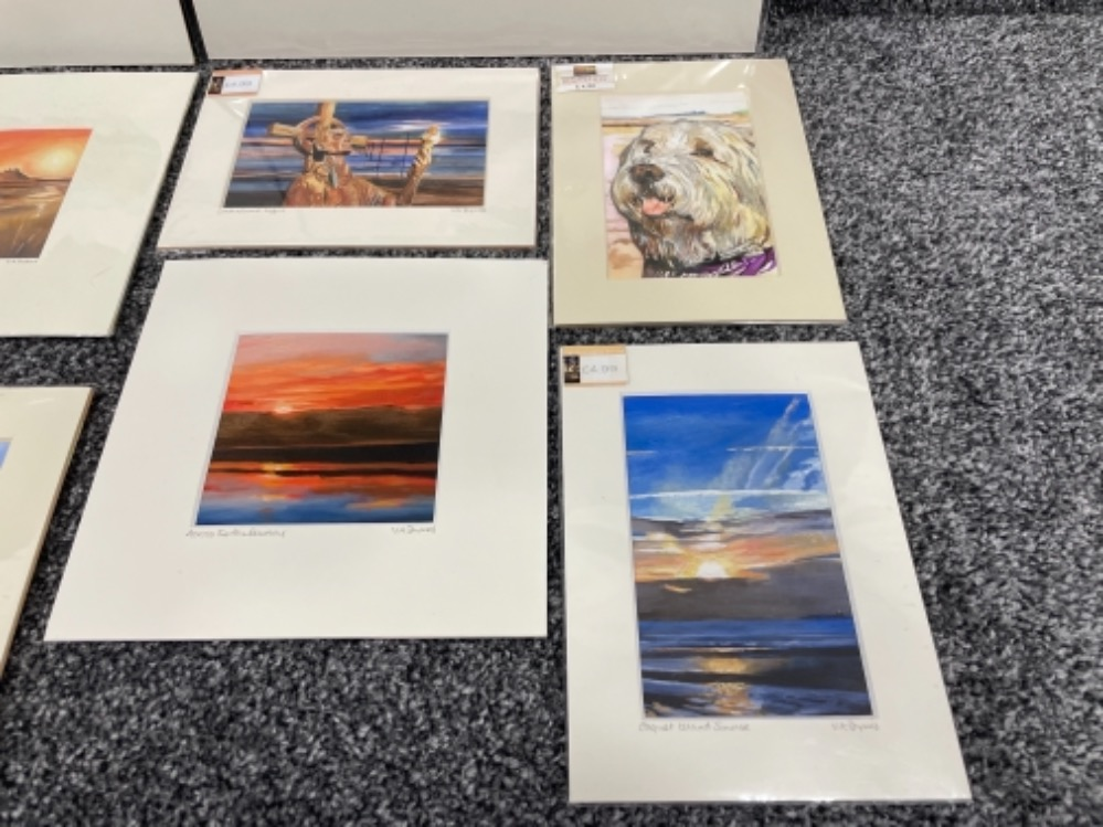Vivienne Ann Dykes signed limited edition prints (10) - Image 3 of 5
