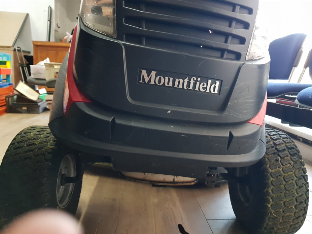 Mountfield model 1436m front engine lawn tractor mower - Image 3 of 5