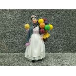 Royal Doulton old lady selling balloons biddy penny farthing