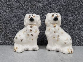 A pair of beswick dogs 1378-6 14cm