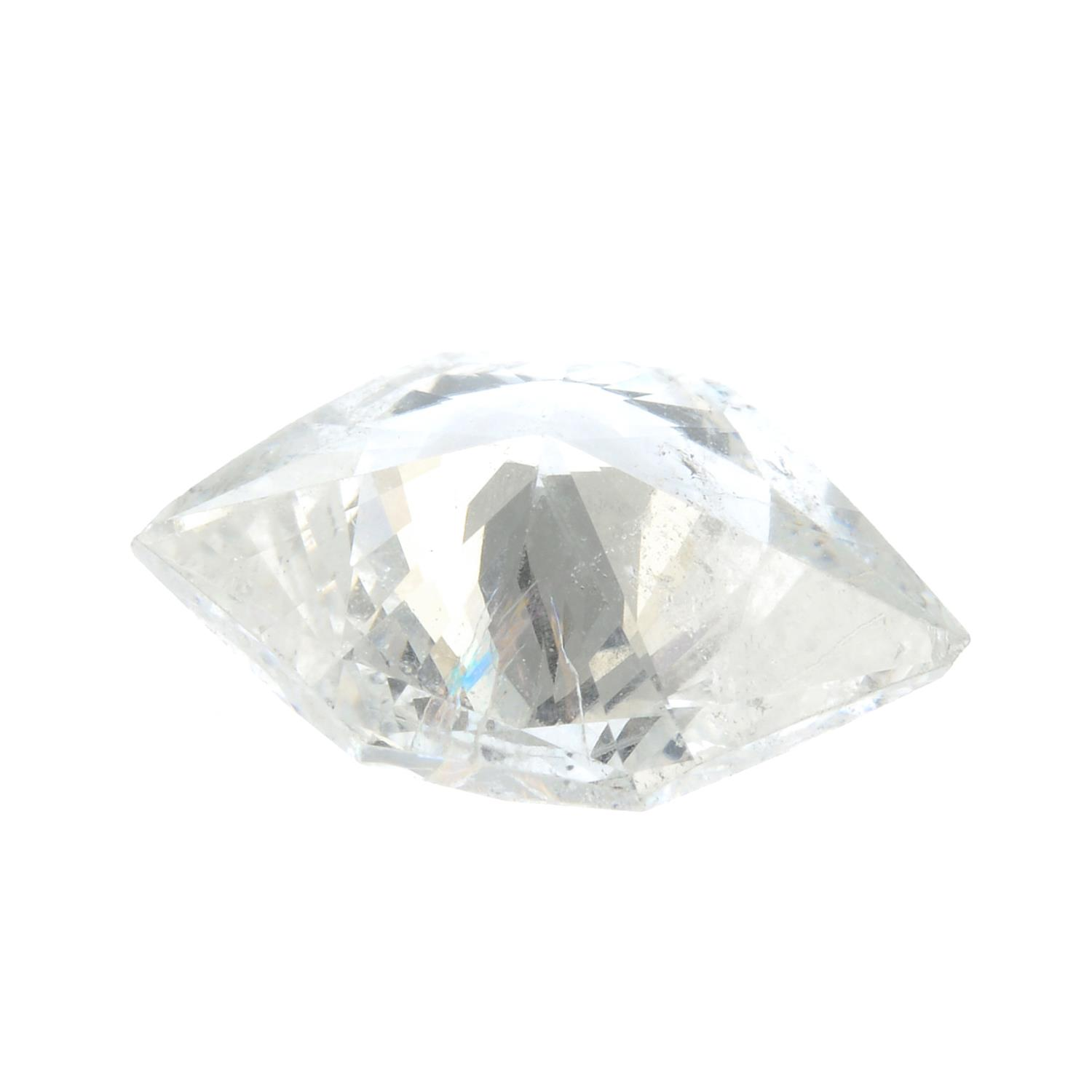 A fancy-shape diamond, weighing 0.92cts. - Image 2 of 2