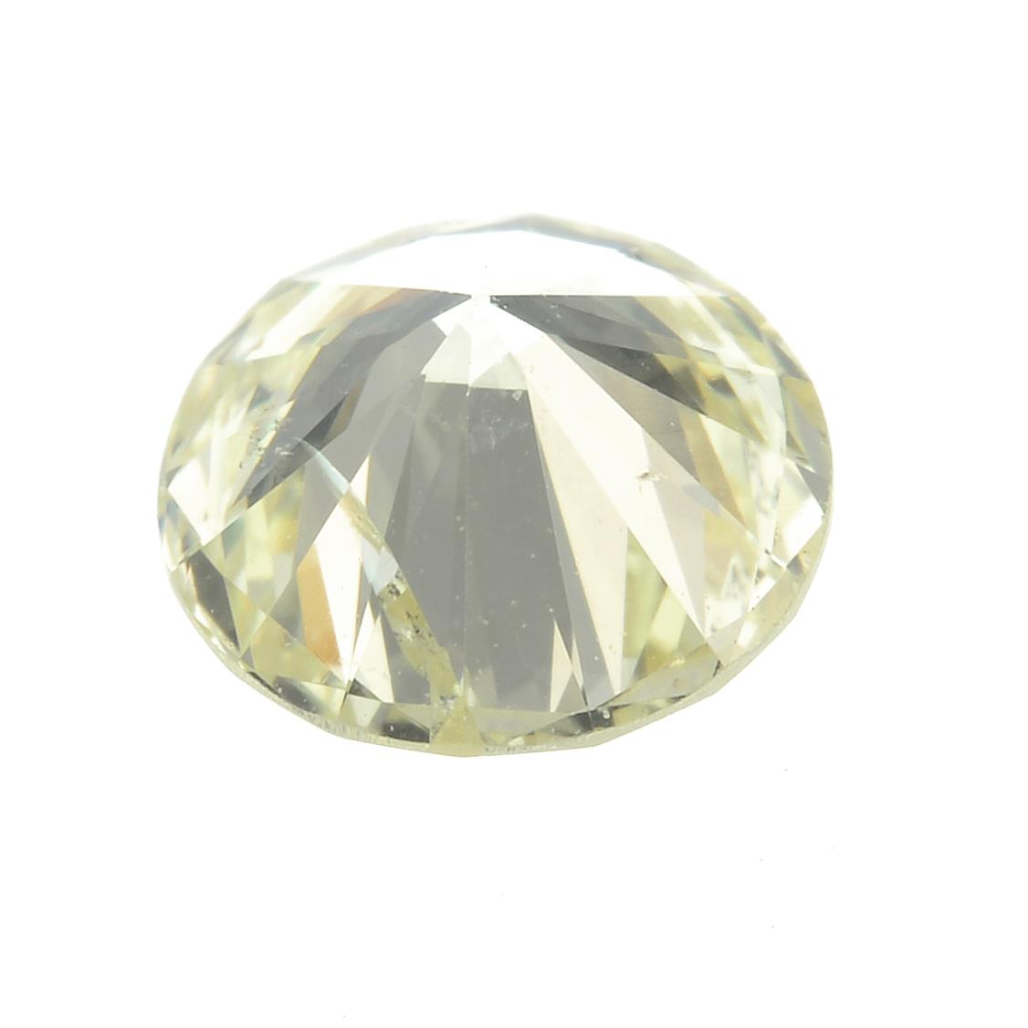 A brilliant-cut diamond, weighing 0.52ct. - Image 2 of 2