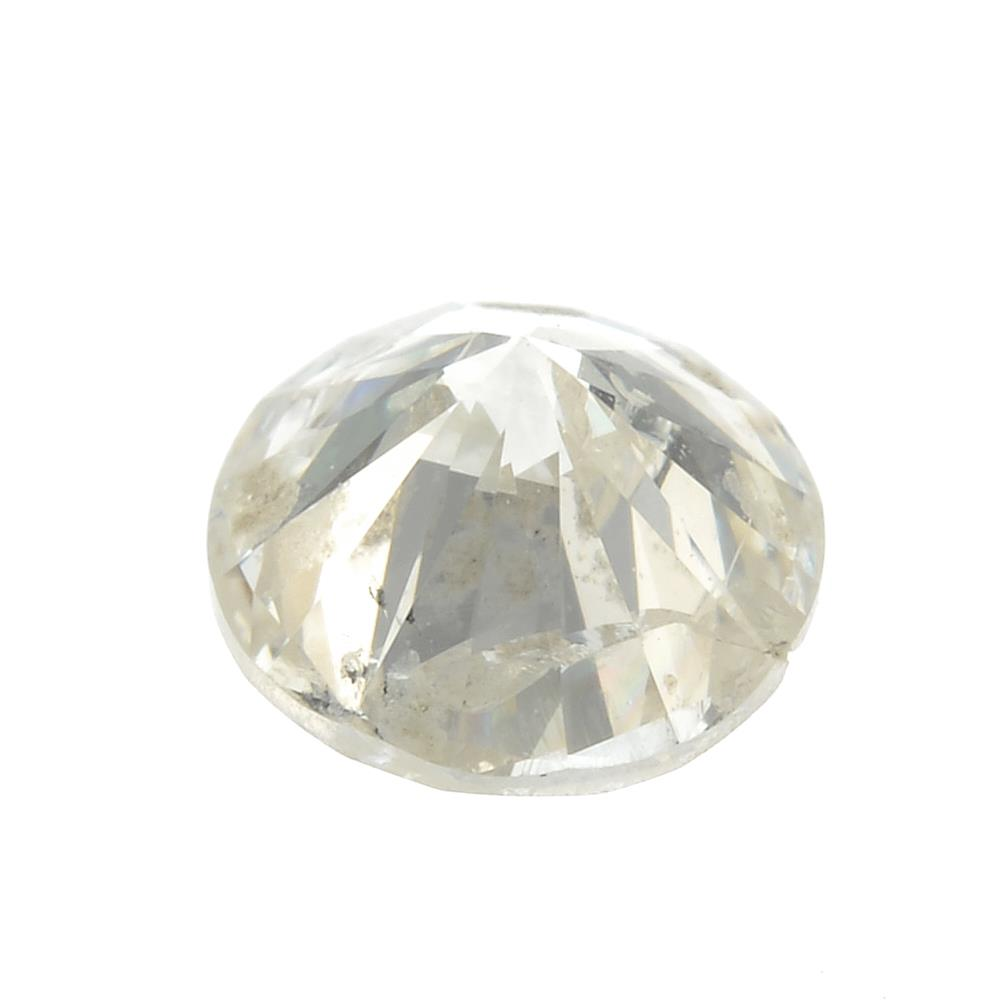 A brilliant-cut diamond, weighing 0.33ct. - Image 2 of 2