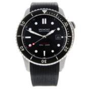 BREMONT - a gentleman's Supermarine S500 wrist watch.