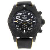 BREITLING - a gentleman's Breitlight Avenger Hurricane chronograph wrist watch.