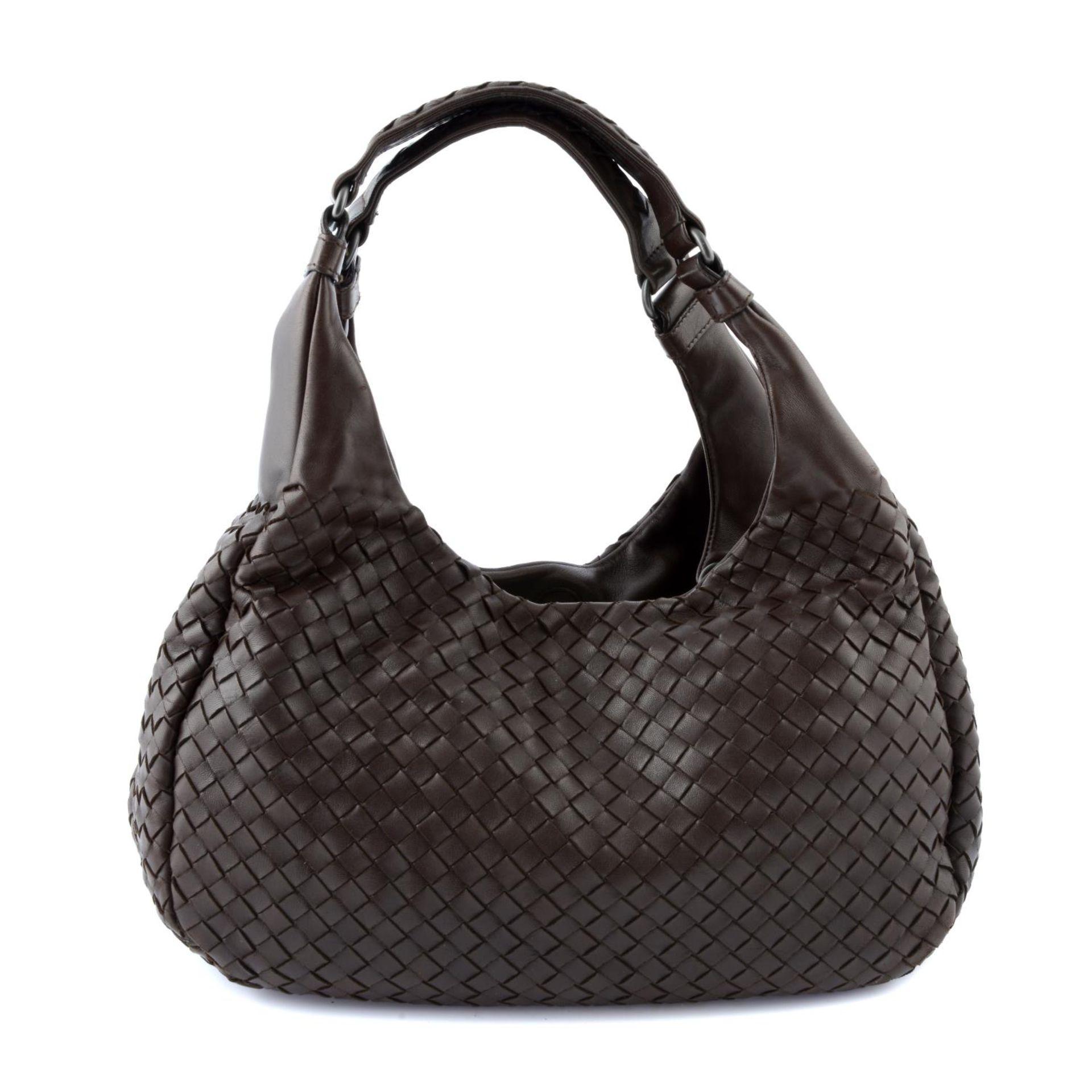 BOTTEGA VENETA - a woven leather Campana hobo handbag.