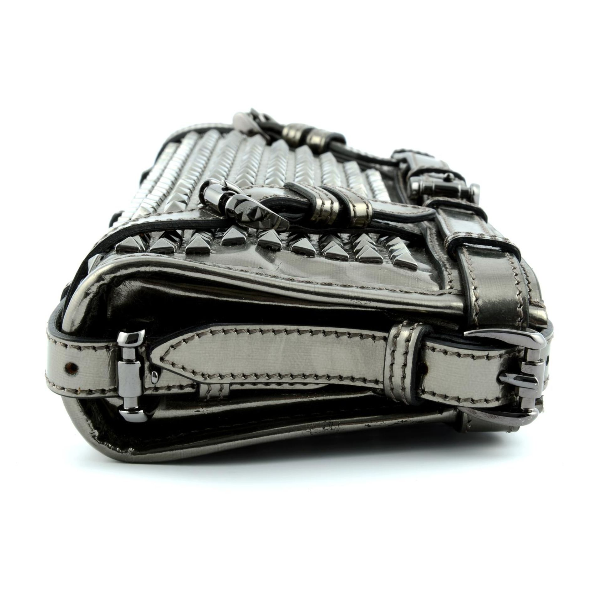 BURBERRY - a Hyde studded clutch. - Image 3 of 5