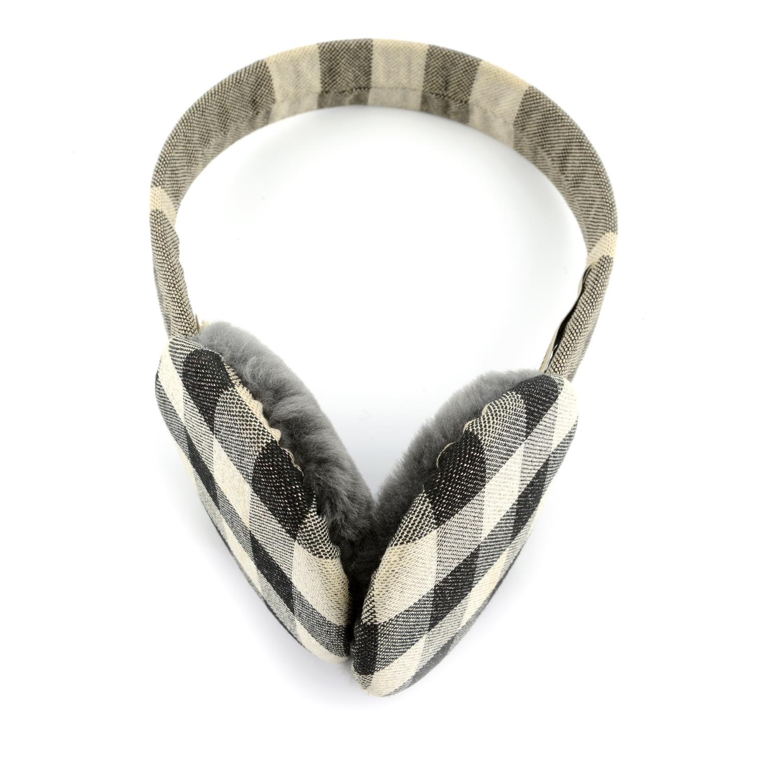 BURBERRY - a pair of ear muffs. - Image 2 of 4