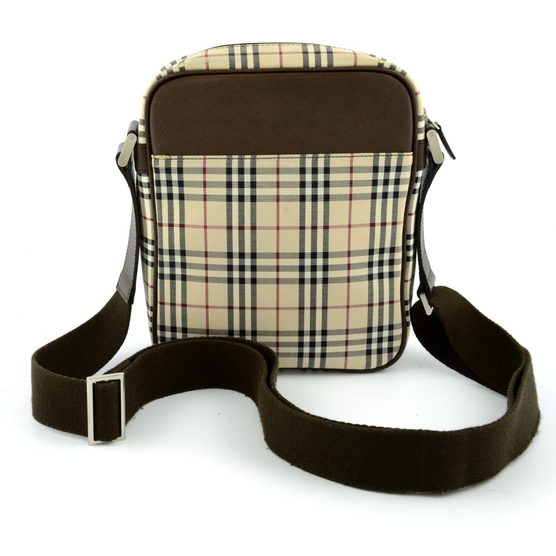 BURBERRY - a Nova Check crossbody messenger bag. - Image 2 of 5