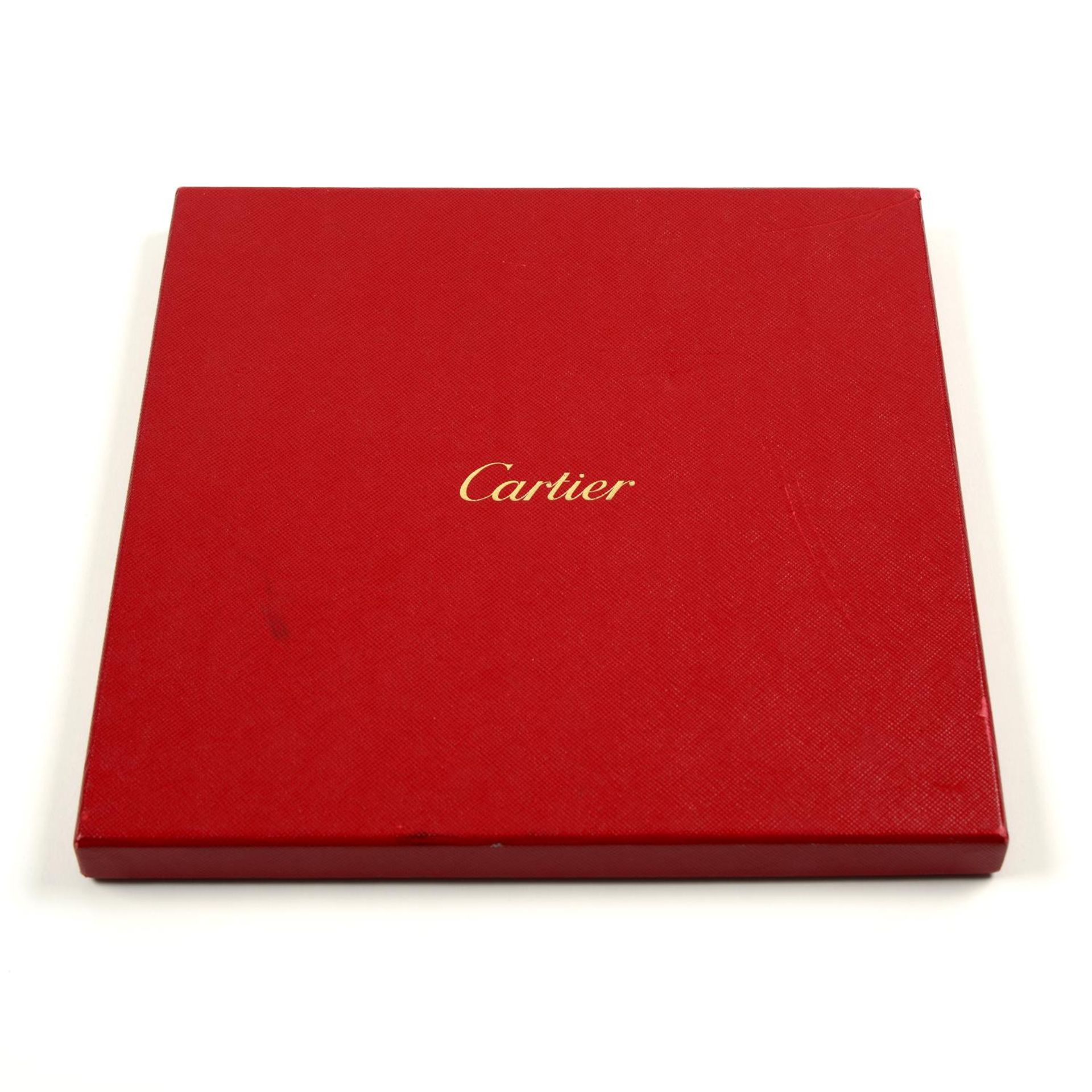 CARTIER - a silk twilly. - Image 4 of 4