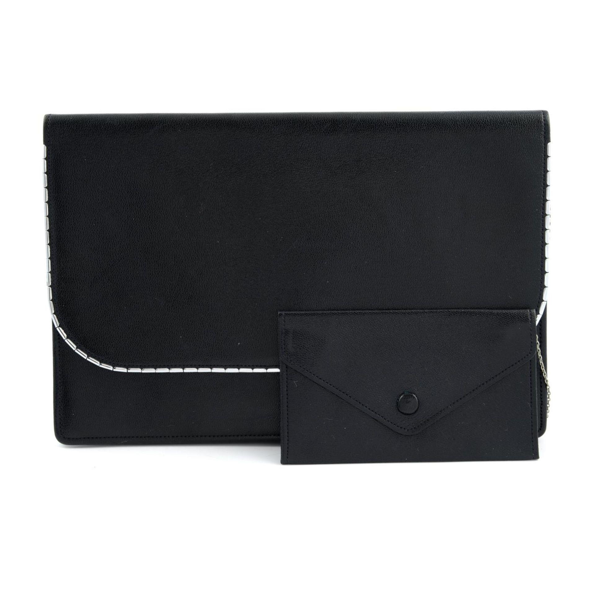 ASPREY - a vintage leather clutch.