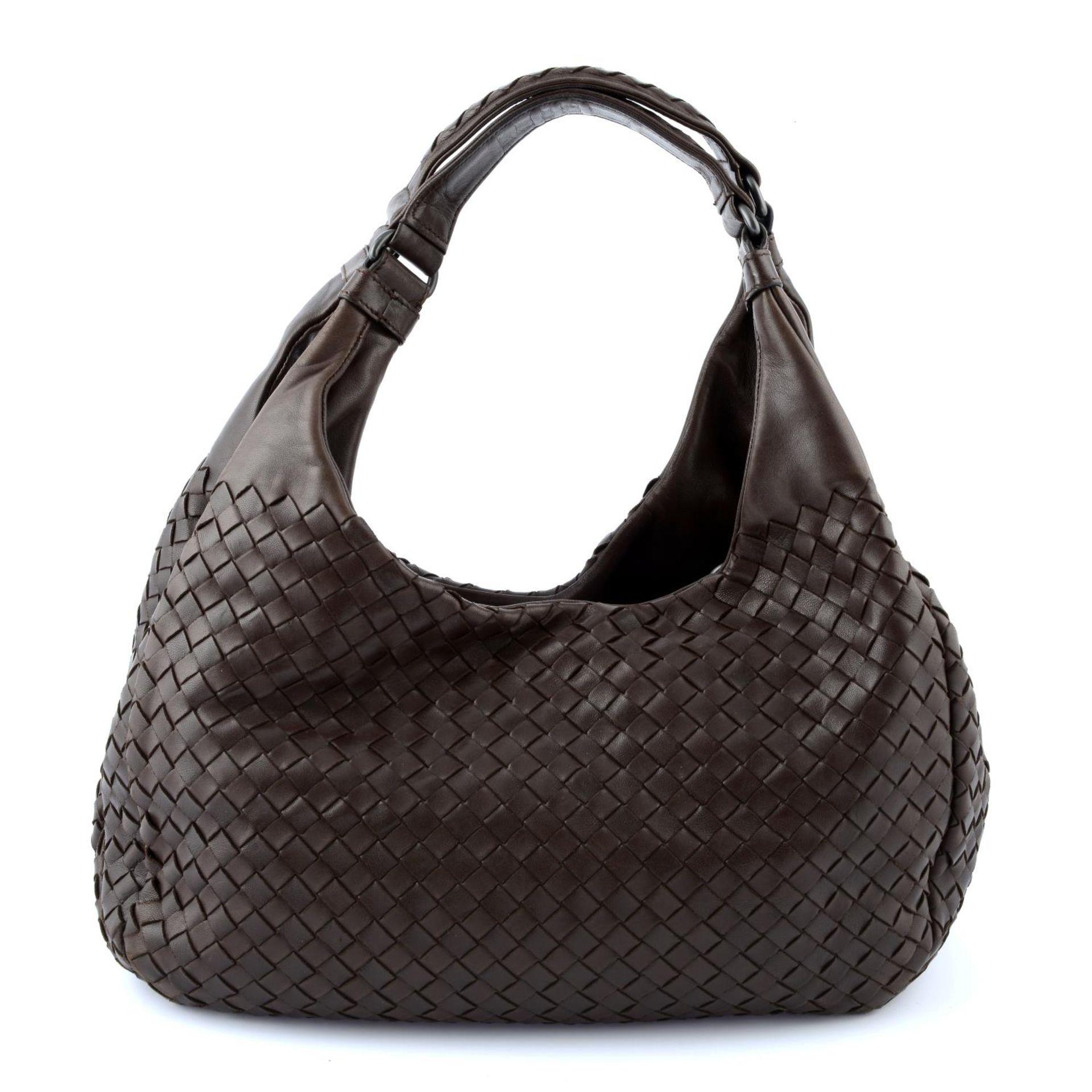 BOTTEGA VENETA - a woven leather Campana hobo handbag. - Image 2 of 6
