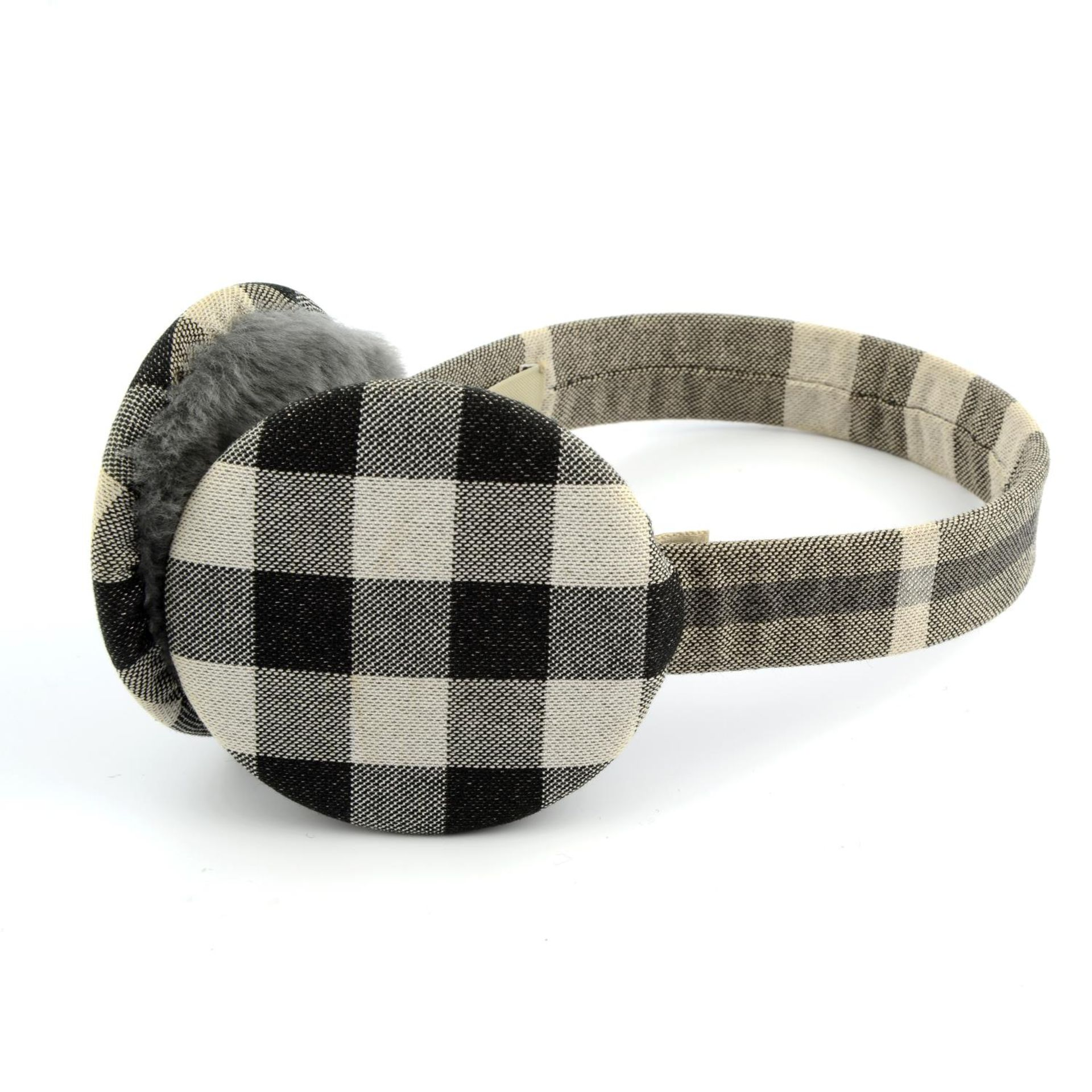 BURBERRY - a pair of ear muffs. - Image 4 of 4