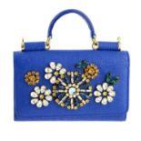DOLCE & GABBANA - a mini Sicily phone case bag.