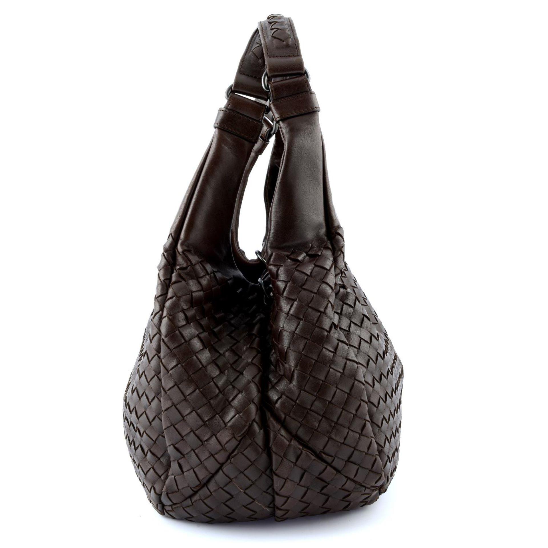 BOTTEGA VENETA - a woven leather Campana hobo handbag. - Image 3 of 6