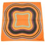 BALMAIN - a silk scarf.