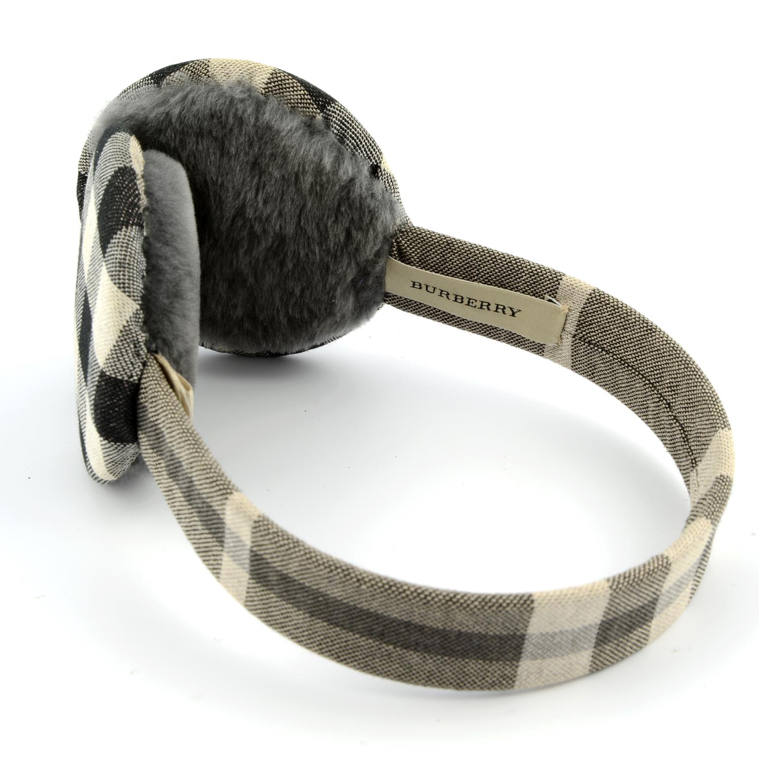 BURBERRY - a pair of ear muffs. - Image 3 of 4