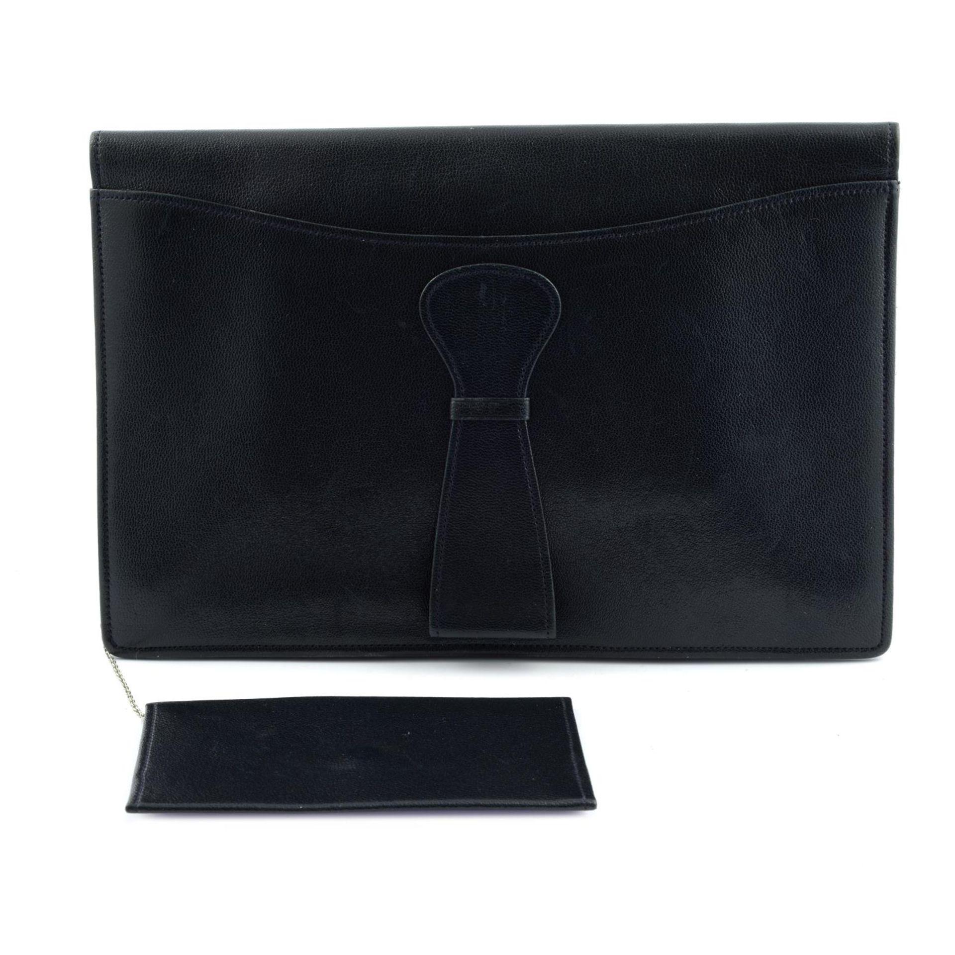 ASPREY - a vintage leather clutch. - Image 2 of 3