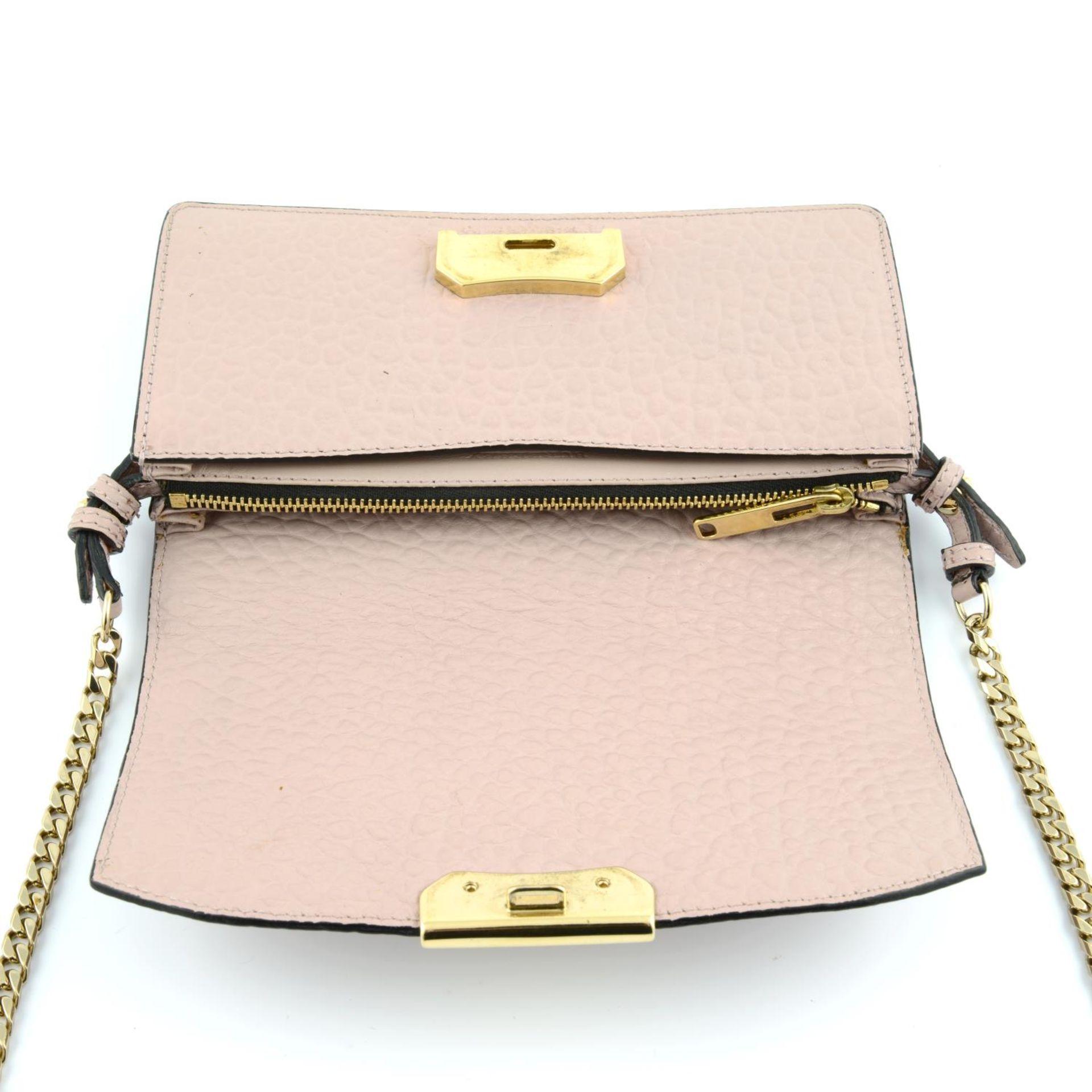 BURBERRY - pink Madison Wallet On Chain handbag. - Image 3 of 5