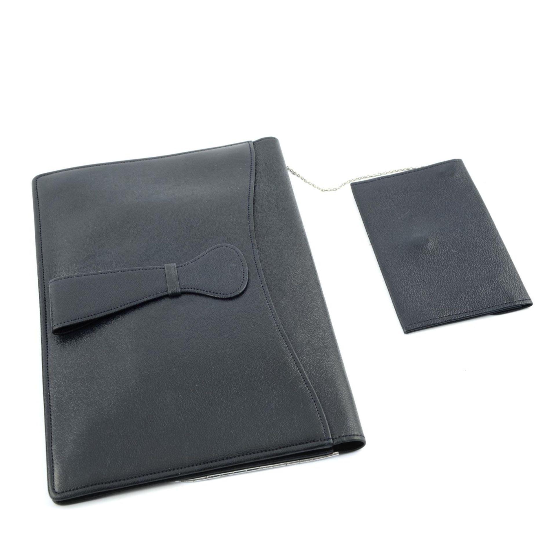 ASPREY - a vintage leather clutch. - Image 3 of 3