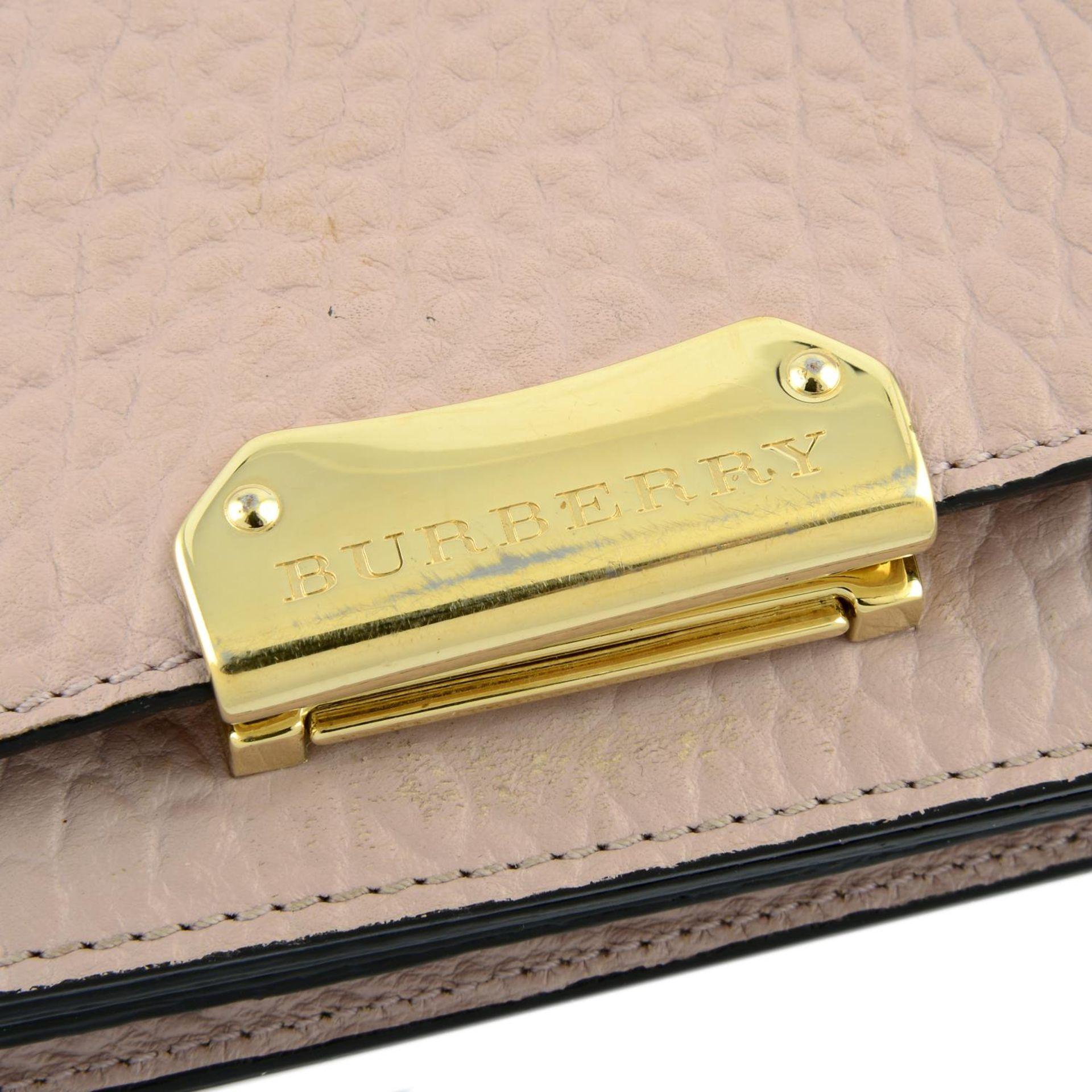 BURBERRY - pink Madison Wallet On Chain handbag. - Image 5 of 5