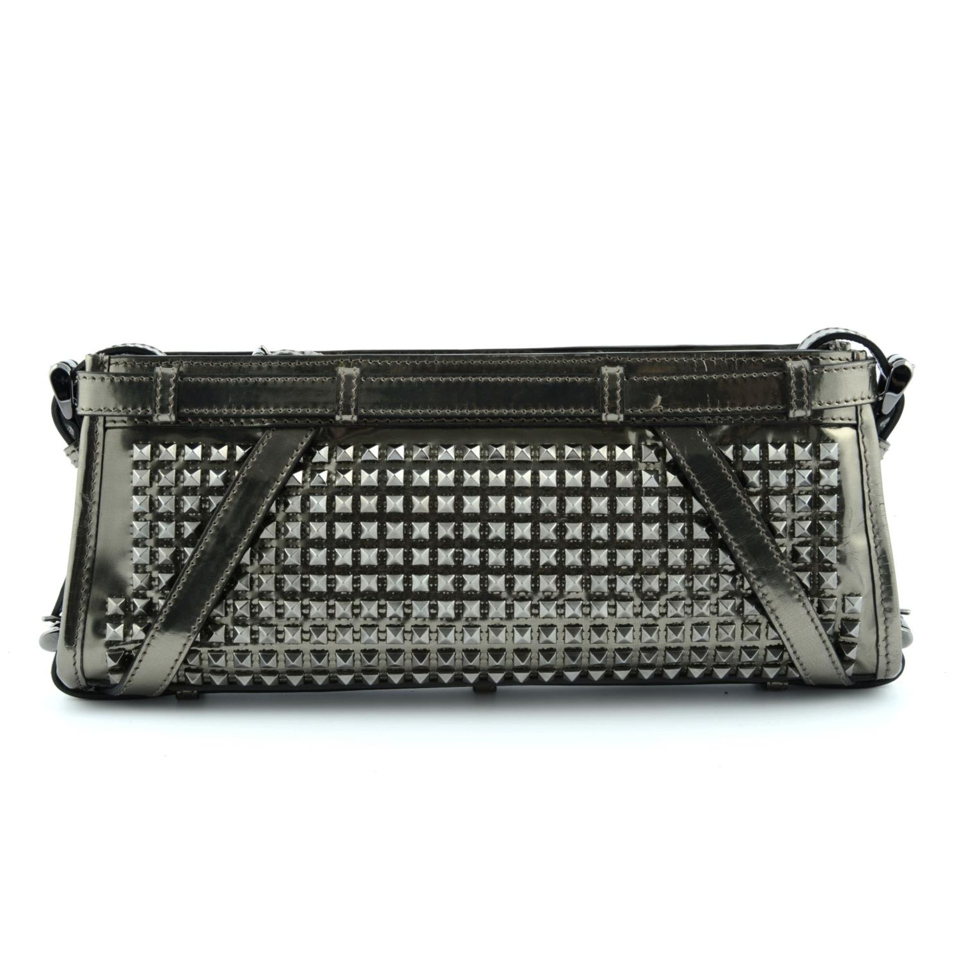 BURBERRY - a Hyde studded clutch. - Image 2 of 5