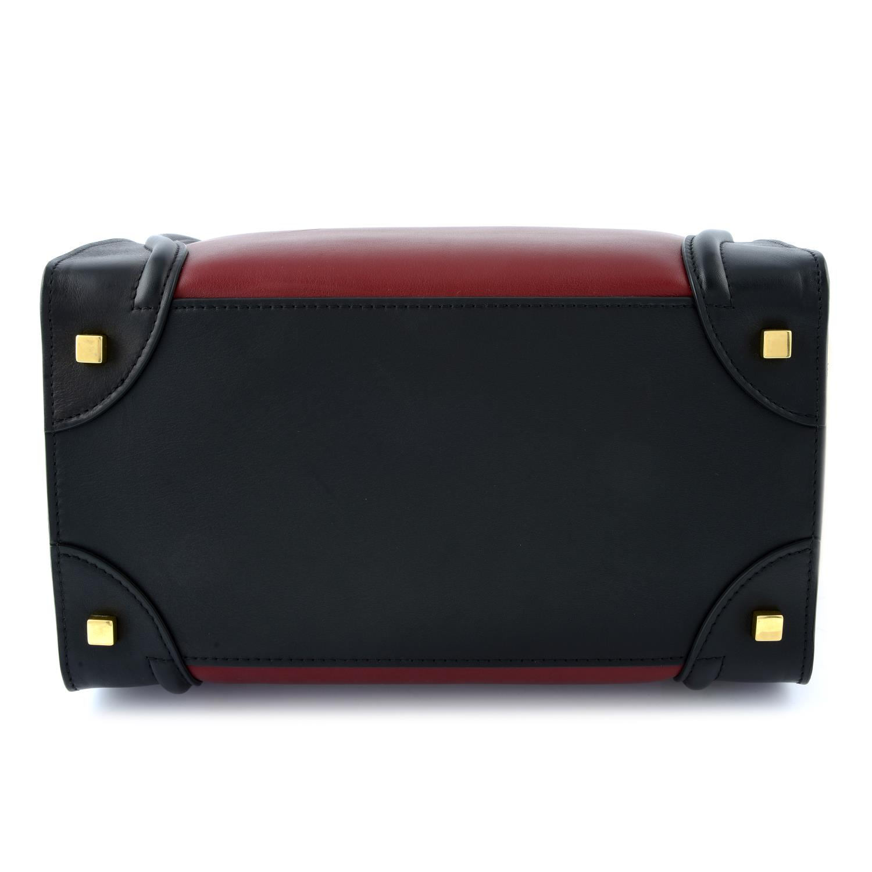 CÉLINE - a Mini Tricolour Luggage Tote. - Image 5 of 5