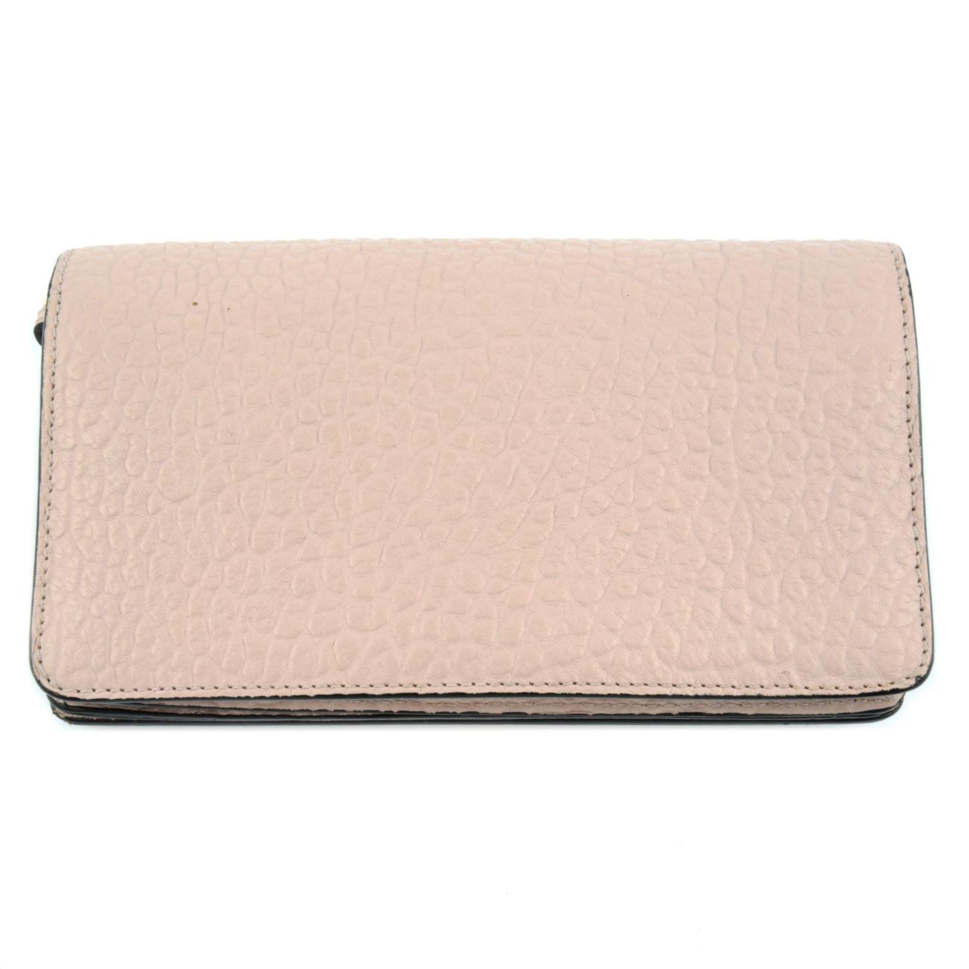 BURBERRY - pink Madison Wallet On Chain handbag. - Image 2 of 5
