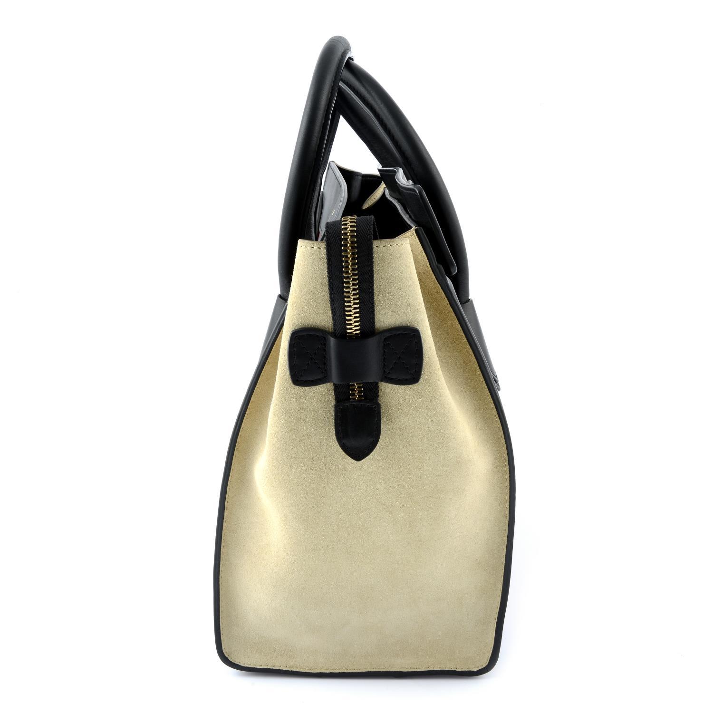 CÉLINE - a Mini Tricolour Luggage Tote. - Image 3 of 5