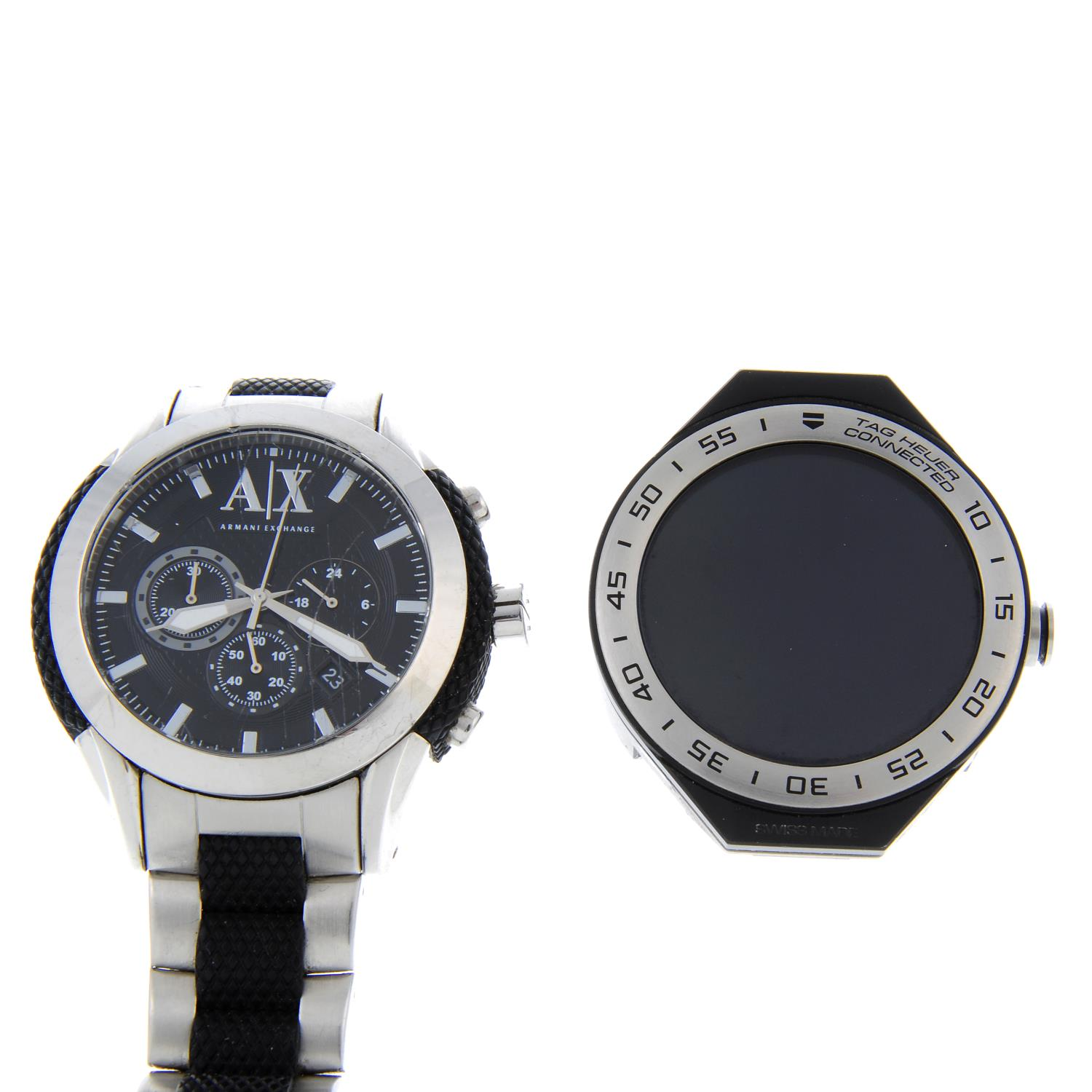 A bag of assorted watches, to include examples by Emporio Armani. - Image 2 of 2