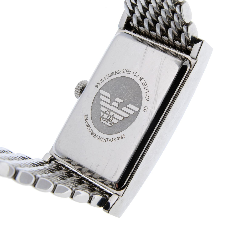 EMPORIO ARMANI - a lady's bracelet watch. - Image 4 of 4