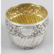 A small Edwardian silver bowl,