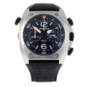 BELL & ROSS - a gentleman's BR02-94 chronograph wrist watch.