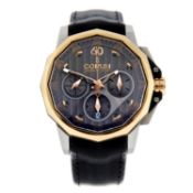 CORUM - a gentleman's Admirals Cup chronograph wrist watch.