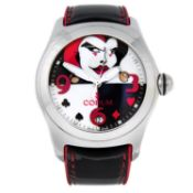 CORUM - a limited edition gentleman's Bubble Joker wrist watch.