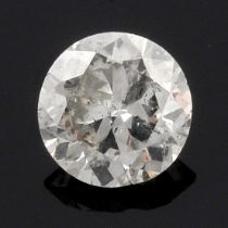 A brilliant cut diamonds, weighing 0.56ct.