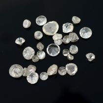 A selection of diamonds, estimated total weight 8.08cts.