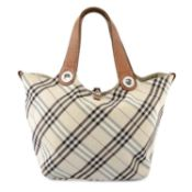 BURBERRY - a Blue Label reversible handbag.