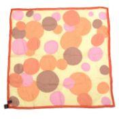 ASPREY - a silk scarf.