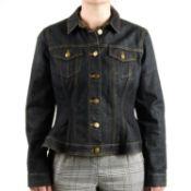 BURBERRY - a Brit denim jacket.