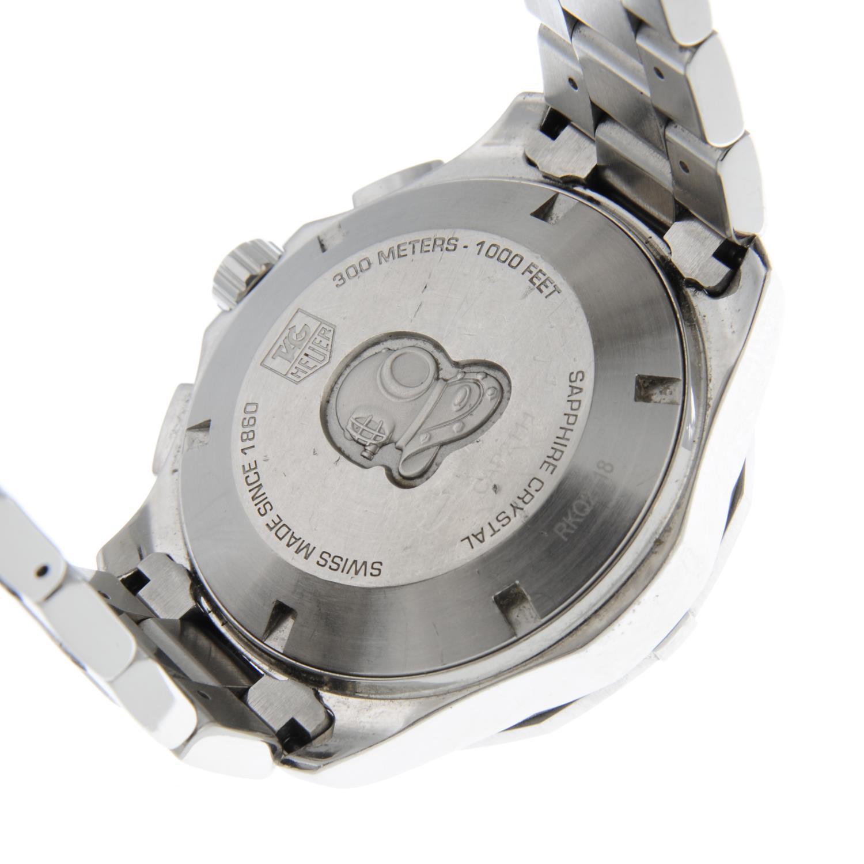 TAG HEUER - an Aquaracerchronograph bracelet watch. - Image 5 of 5