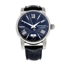 MONTBLANC - a Star wrist watch.