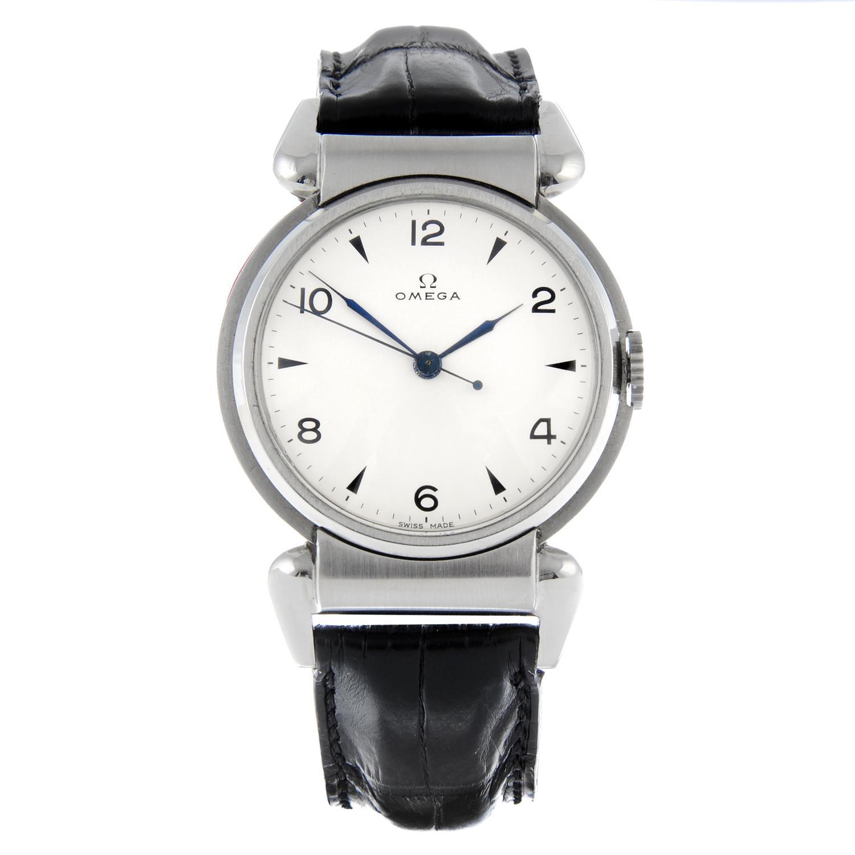 OMEGA - a Scarab wrist watch.