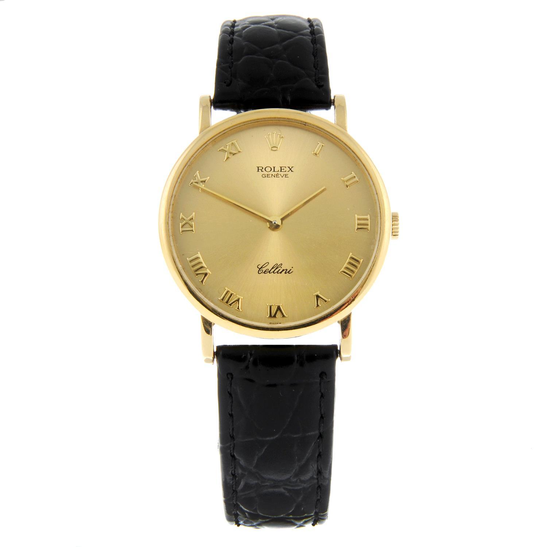 ROLEX - a Cellini wrist watch.