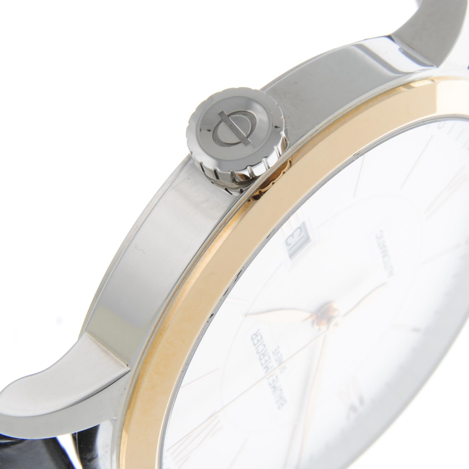BAUME & MERCIER - a stainless steel Classima wrist watch. - Image 5 of 6