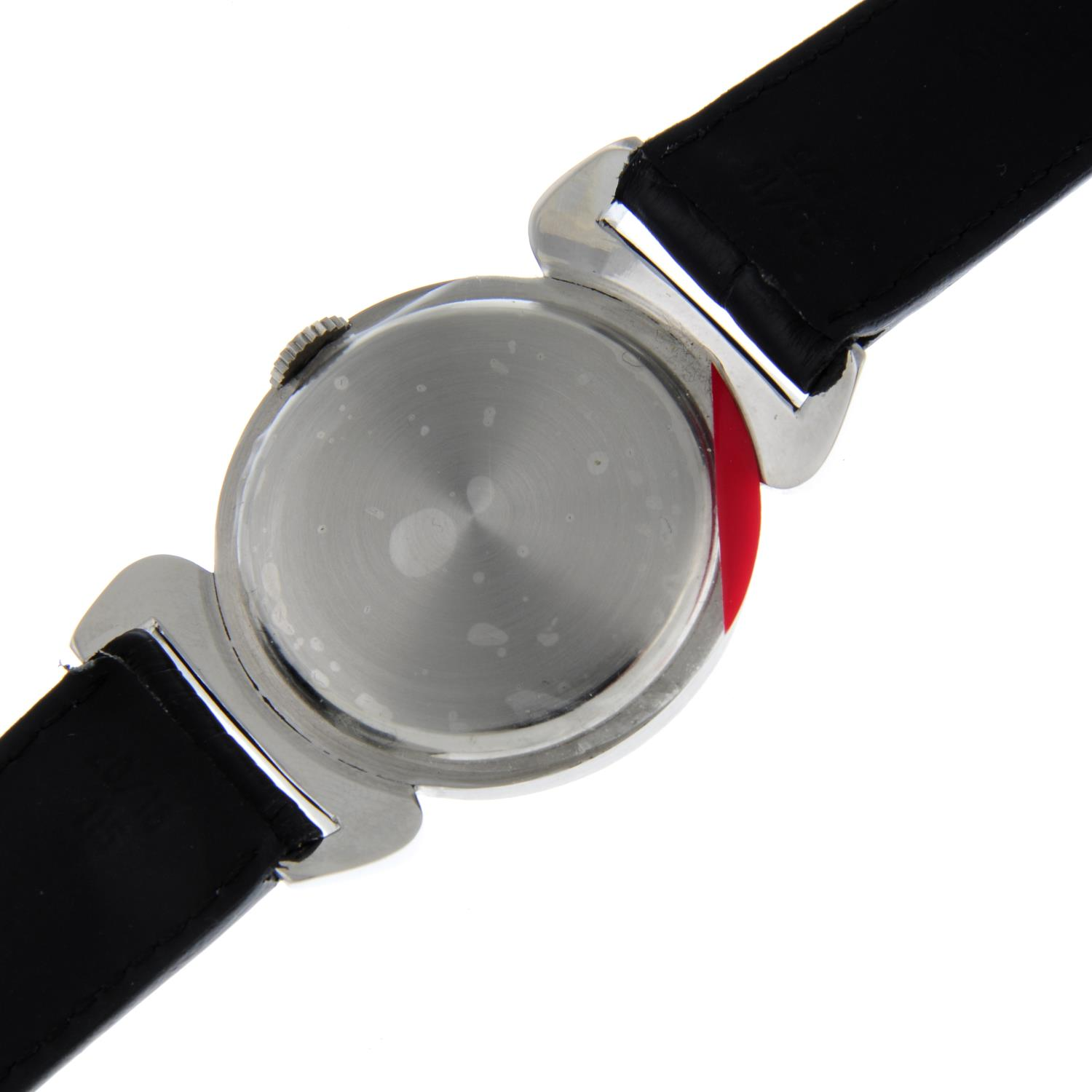 OMEGA - a Scarab wrist watch. - Image 5 of 5