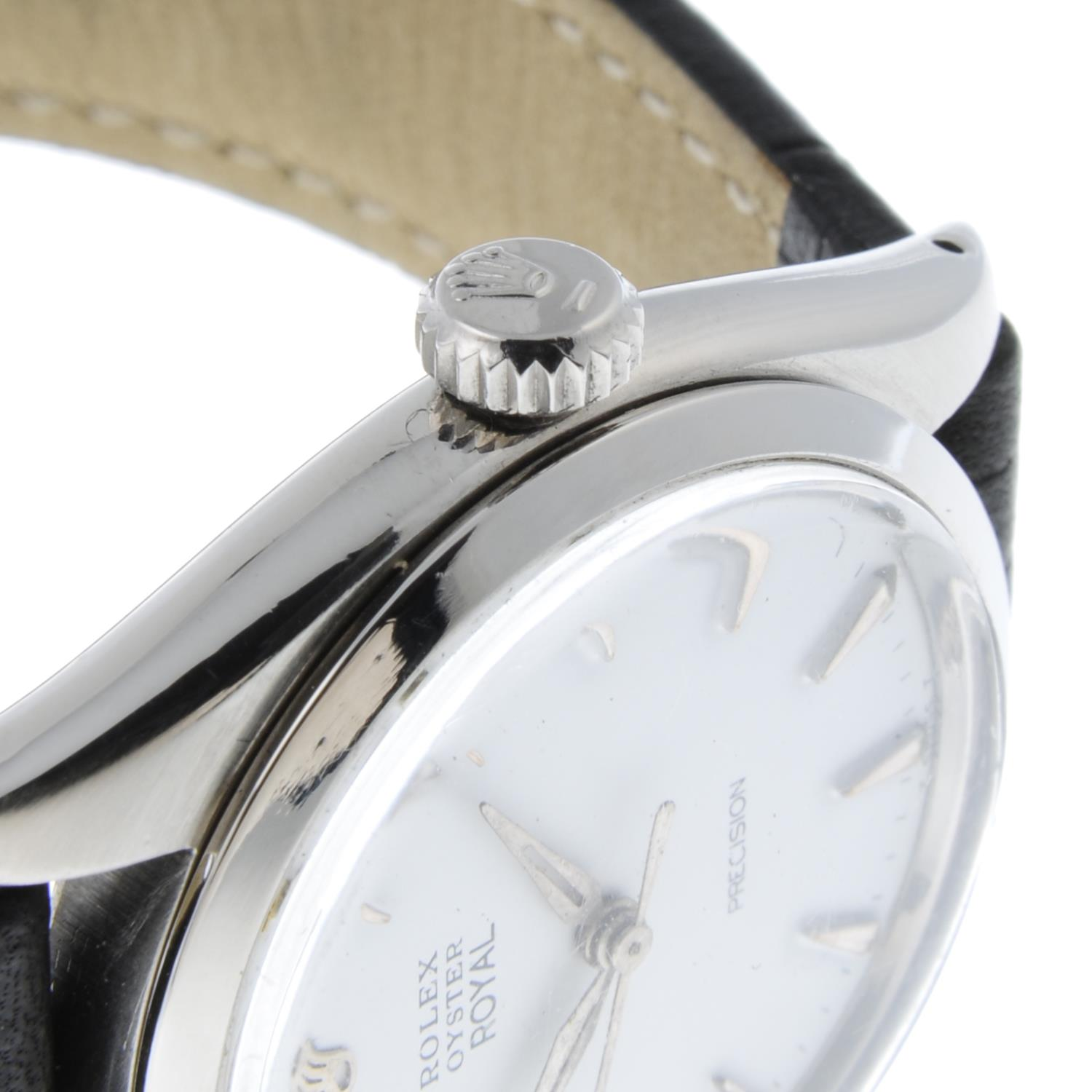 ROLEX - an Oyster Precision wrist watch. - Image 5 of 5