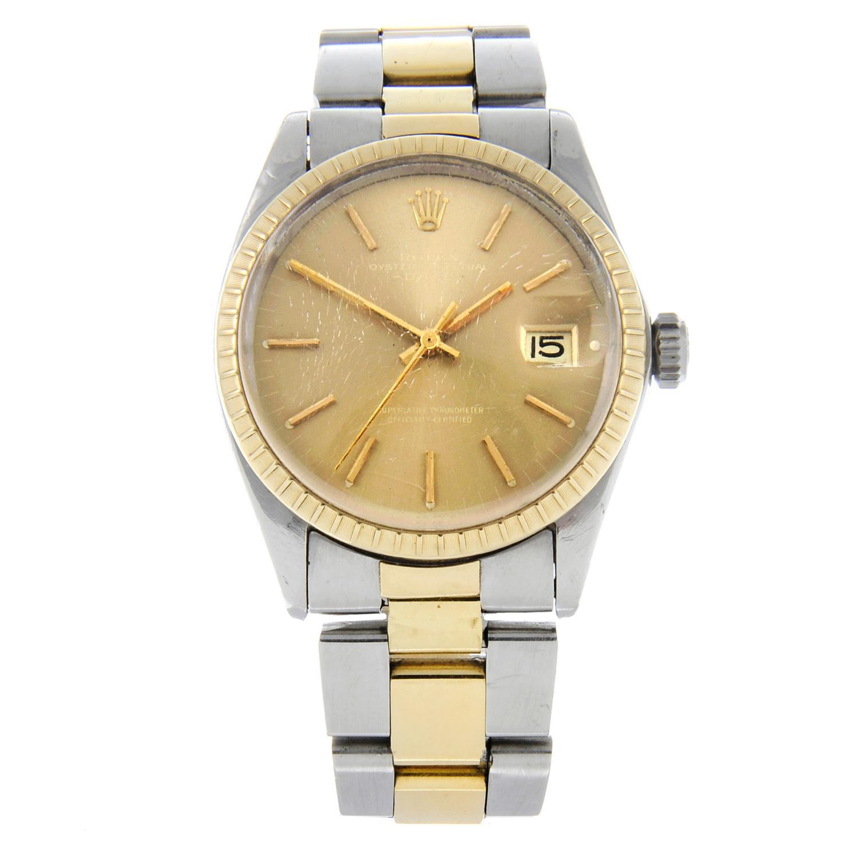 ROLEX - an Oyster Perpetual Date bracelet watch.